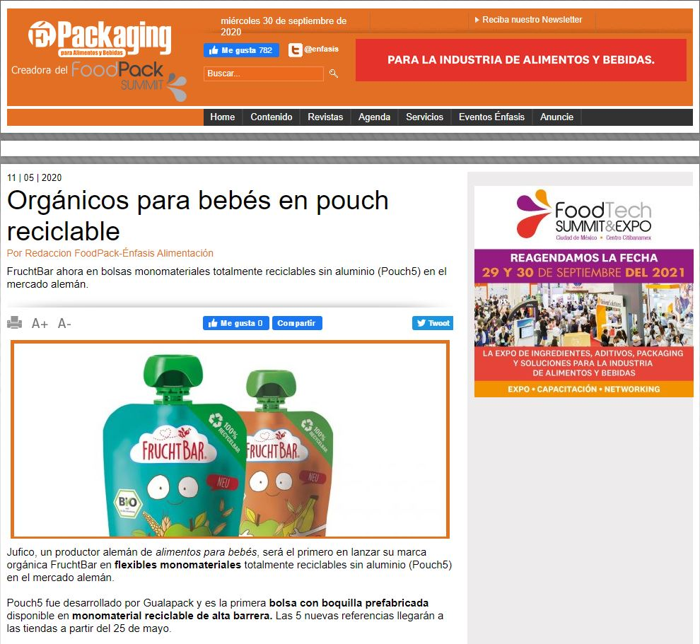 Gualapack Articolo Packaging