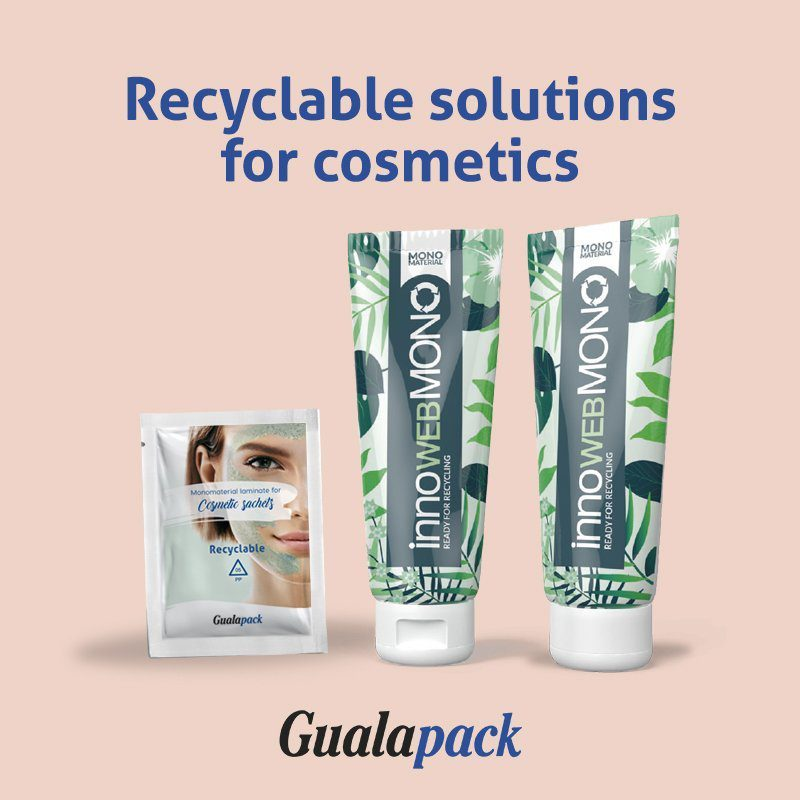 Gualapack Recyclable laminates solutions for cosmetics