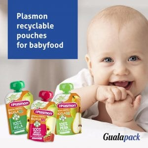 Gualapack Recyclable baby food pouches