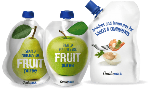 Gualapack Shaped Pre-made Spouted Pouches